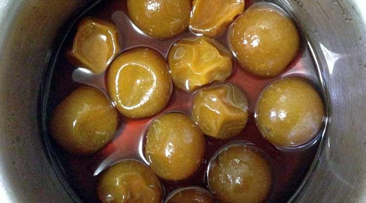 キンカン の 甘露煮