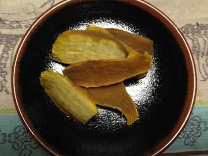 安納芋の干し芋