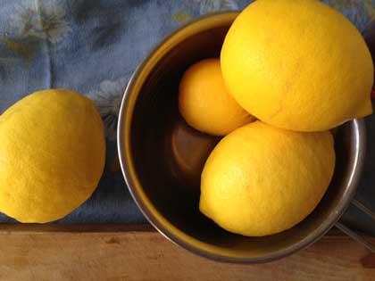 レモン4個