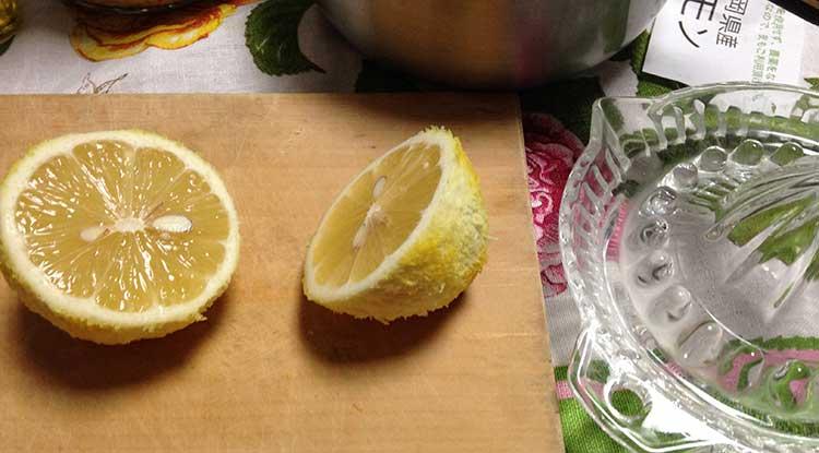 レモンドレッシング用レモン